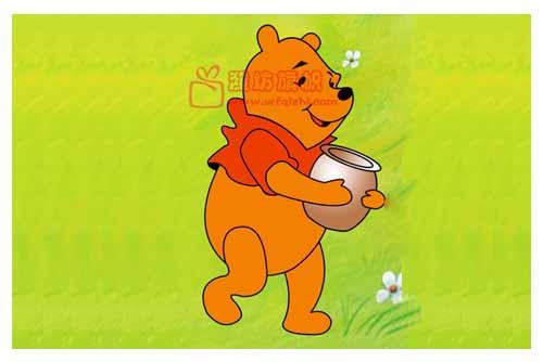 小熊维尼,手抱蜂蜜